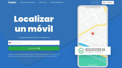 Localizador movil en 2 minutos. Geolite.mobi