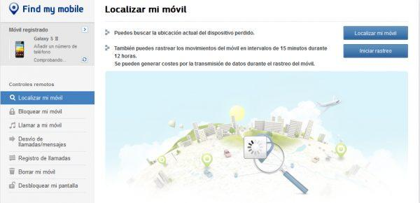 Rastrea y geolocaliza un movil con Mobile-find.mobi